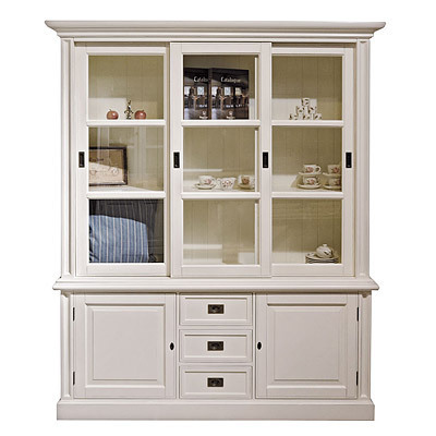 schrank cambridge glass cabinet 3 t rig. Black Bedroom Furniture Sets. Home Design Ideas